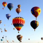 Balloon Fiesta: naso all'ins per il festival  delle mongolfiere