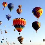 Balloon Fiesta: naso all'insù per il festival  delle mongolfiere