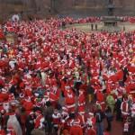 SantaCon: tutti vestiti da Babbo Natale da Londra a New York