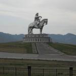 La statua di Gengis Khan in Mongolia: un colosso vicino Ulan Bator