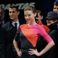 Miranda Kerr splendida hostess  stata protagonista di una sfilata organizzata dalla compagnia australiana Qantas a Sydney