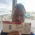 Francesco Facchinetti sbaglia aereo e sbarca ad Amsterdam